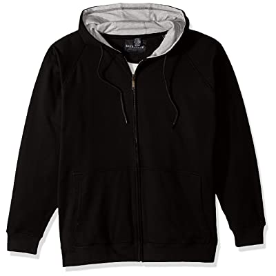 AquaGuard Men's ULTC-8463-Heather Black-S, Heather Grey/Bl, Small at Men's Clothing store