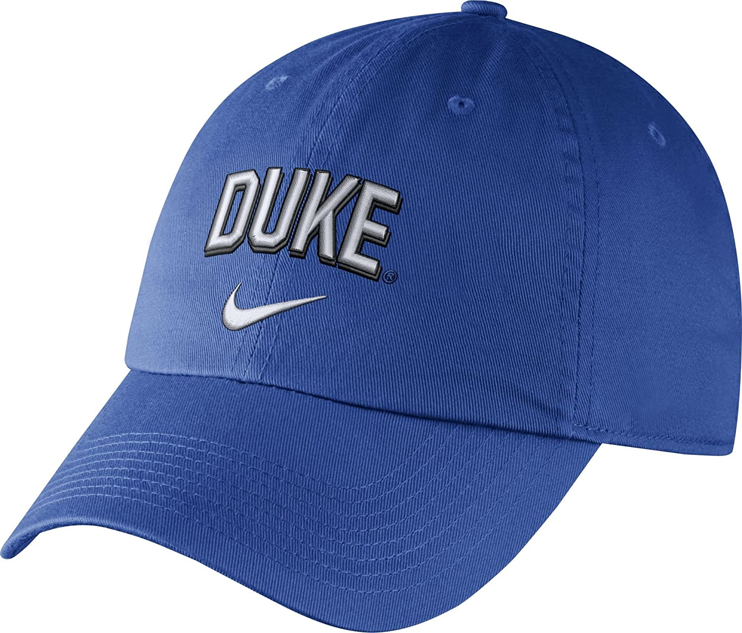 e04f83bbd41 ... coupon code for amazon nike mens duke blue devils duke blue heritage86  wordmark swoosh flex hat
