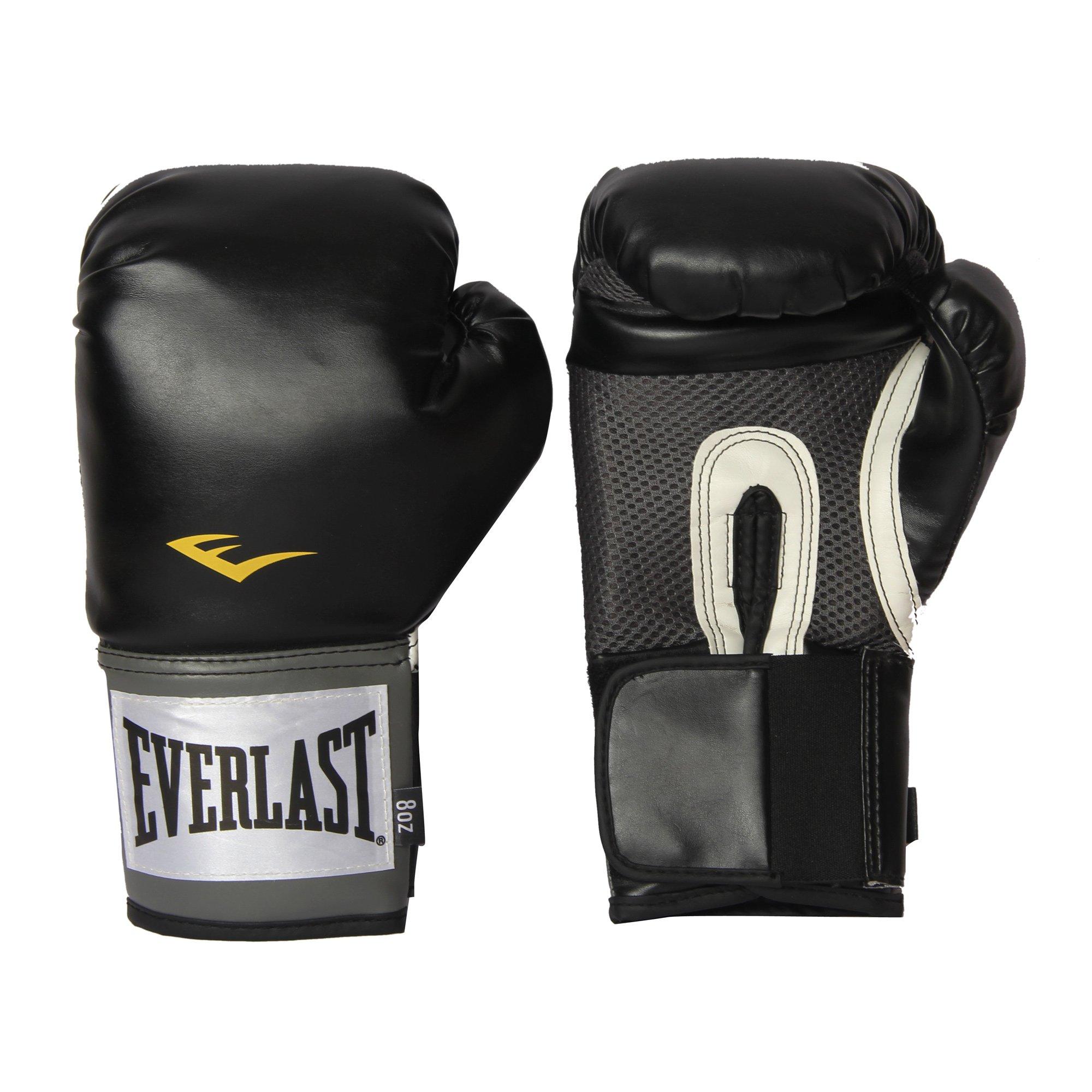 Everlast Pro Style Training Gloves (Black, 12 oz.)