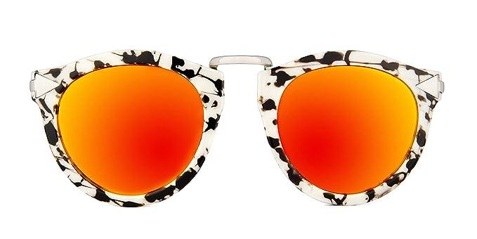 Maltessa Noash (Ceniza espejo Rojo) - Gafas de sol para ...