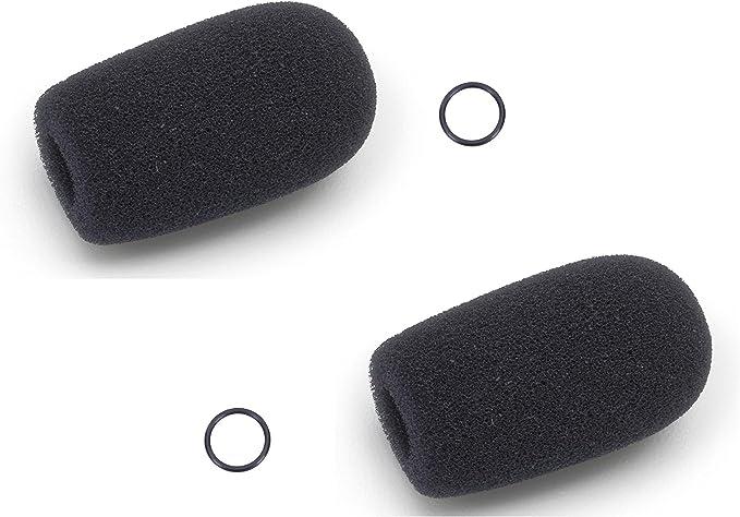 Pack of 8 Cloth Ear Cover for Pilot Aviation Headset Bose Lightspeed David Clark