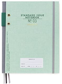 DesignWorks Ink Standard Issue Bound Personal Journal, Green