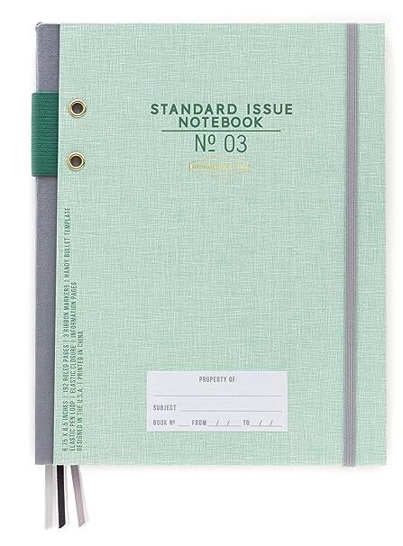 DesignWorks Ink Standard Issue Bound Personal Journal Green