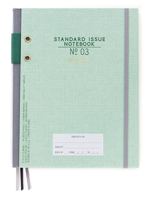 Amazon.com : DesignWorks Ink Standard Issue Bound Personal Journal ...