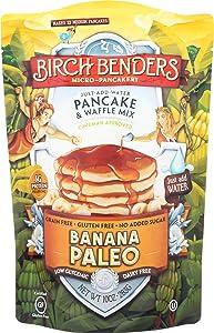 Birch Benders, Banana Paleo Pancake & Waffle Mix, 10 oz