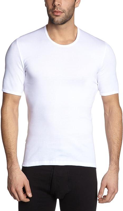 Schiesser Menss Essentials Cotton Vest White