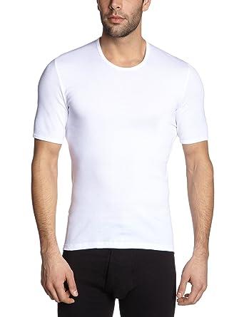 Schiesser Herren Unterhemd 005122-100, Gr. 4 (S), Weiß (