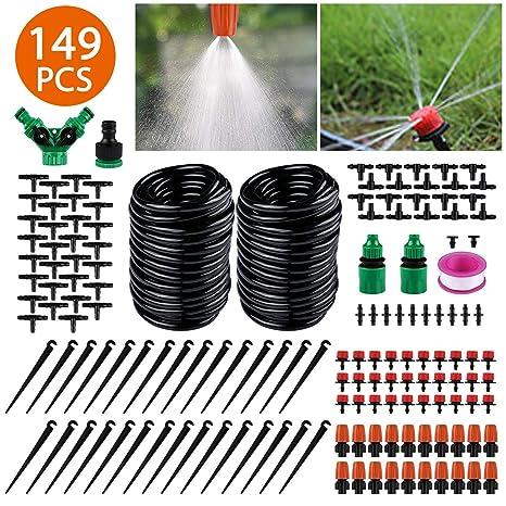 Emooqi Bewässerung Kit 149 Pcs Garten Bewässerungssystem Diy Micro