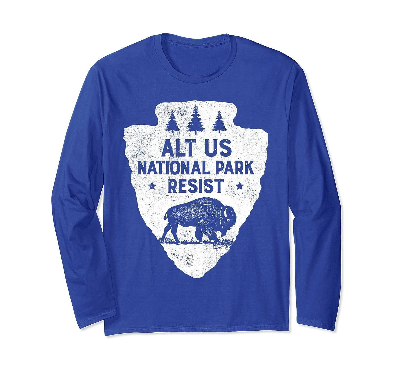 ALT US National Park Resist Service T shirt Bison Vintage-ln