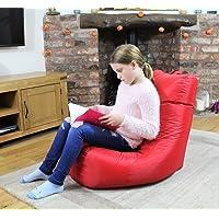 MaxiBean Bean Bag Indoor Beanbag Outdoor Gaming Garden Cushion Kids Chair Red