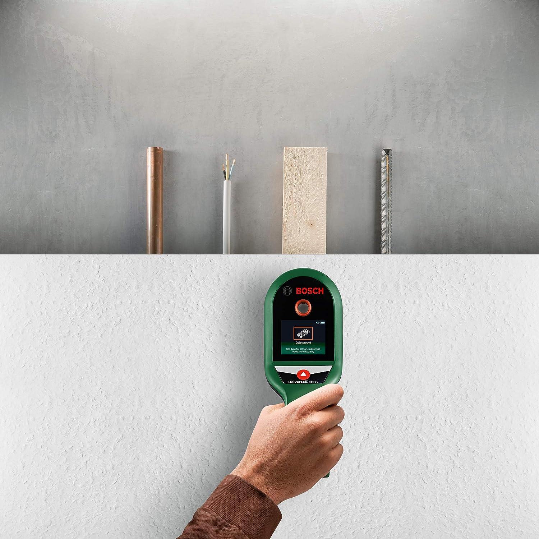 Bosch Home and Garden Ortungsgerät UniversalDetect 0603681300 Ortungstiefe (MAX.) 100mm apropiado f: Amazon.es: Bricolaje y herramientas