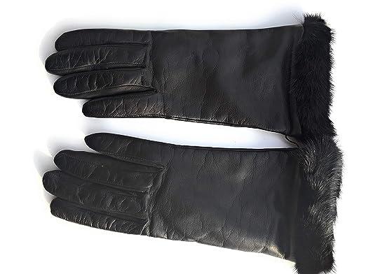 cercare nuovo di zecca outlet Gioielli di Pelo - Guanti in pelle con interno in lana ...