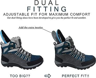 MujerZapatillas Trekking Libre para Altas Montaña Impermeable riemot Botas Senderismo Campo Escalada Calzado y de Ligero de Zapatos de Aire xCBeoQrdW