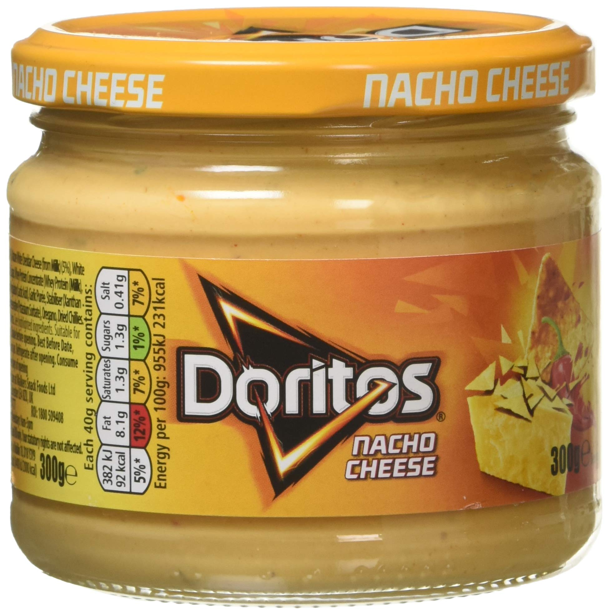 Doritos Nacho Cheese Dips 300 g (Case of 6)