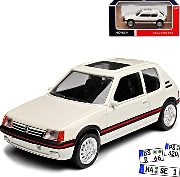 Peugeot 205 Gentry Dunkel Grün Schwarz 1983-1998 Nr 561 1//18 Otto Modell Auto mi