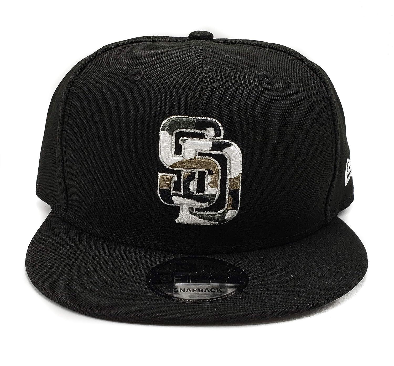 473f9a1c00735a Amazon.com : New Era San Diego Padres Adjustable 9Fifty MLB Straight Brim  Baseball Cap 950 : Sports & Outdoors