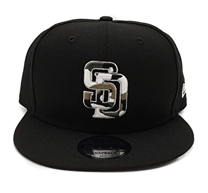 cheap for discount 74a9c ceff9 New Era San Diego Padres 9Fifty Army Camo Trim Adjustable Snapback Hat