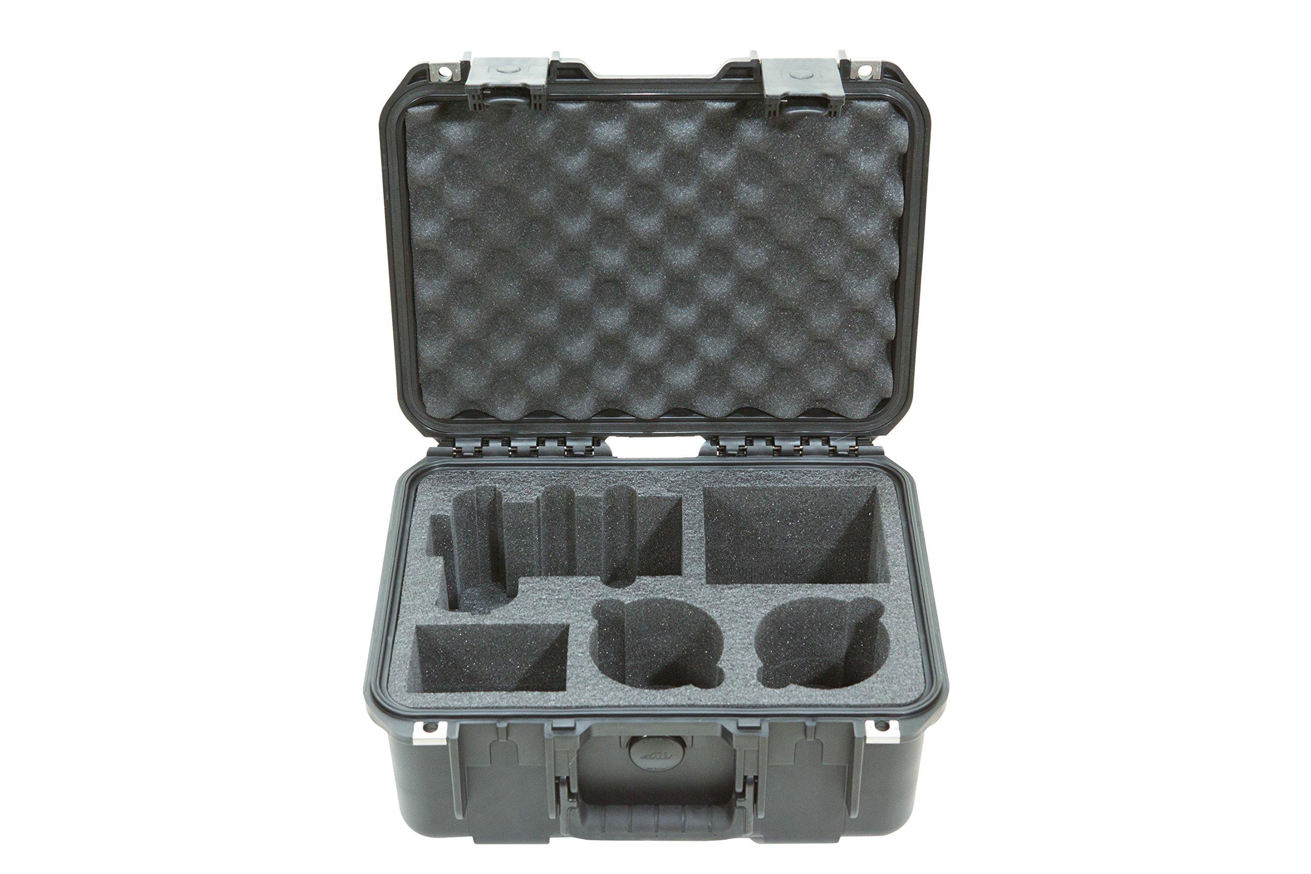 SKB Cases 3i-13096SA7 SKB - iSeries Sony A7/A7ii Camera with 2 Lens Pockets (Black)