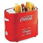 Dace Appliances North America HDT600COKE Tostadora de Hot Dog, color Rojo