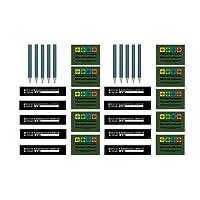 Petling Refill Set - Logbücher und Aufkleber - Wartungsset Preform Maintenance Kit Geocaching Petling Logbücher Filmdosen Micro Nano, Cache Container, Cache versteck,