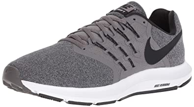buy online 397be 2c811 NIKE908989 - Nike Run Swift Homme, Gris (Gunsmoke Black - White),