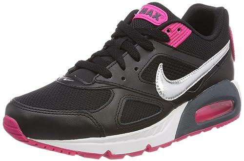 brand new 6a1ed 6f794 Nike Wmns Air MAX Ivo, Zapatillas de Deporte para Mujer, Plata  Metalizada/Negro 002, 38.5 EU: Amazon.es: Zapatos y complementos