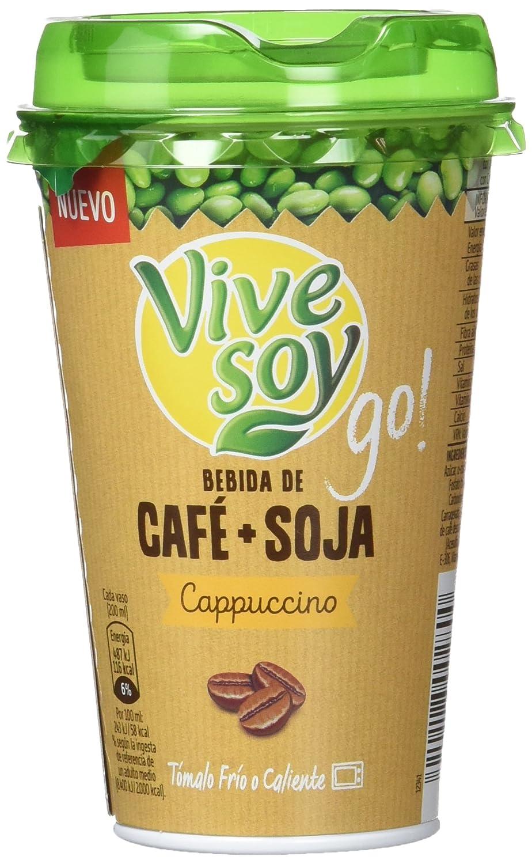 Vivesoy Go - Bebida de Café y Soja - 200 ml: Amazon.es ...