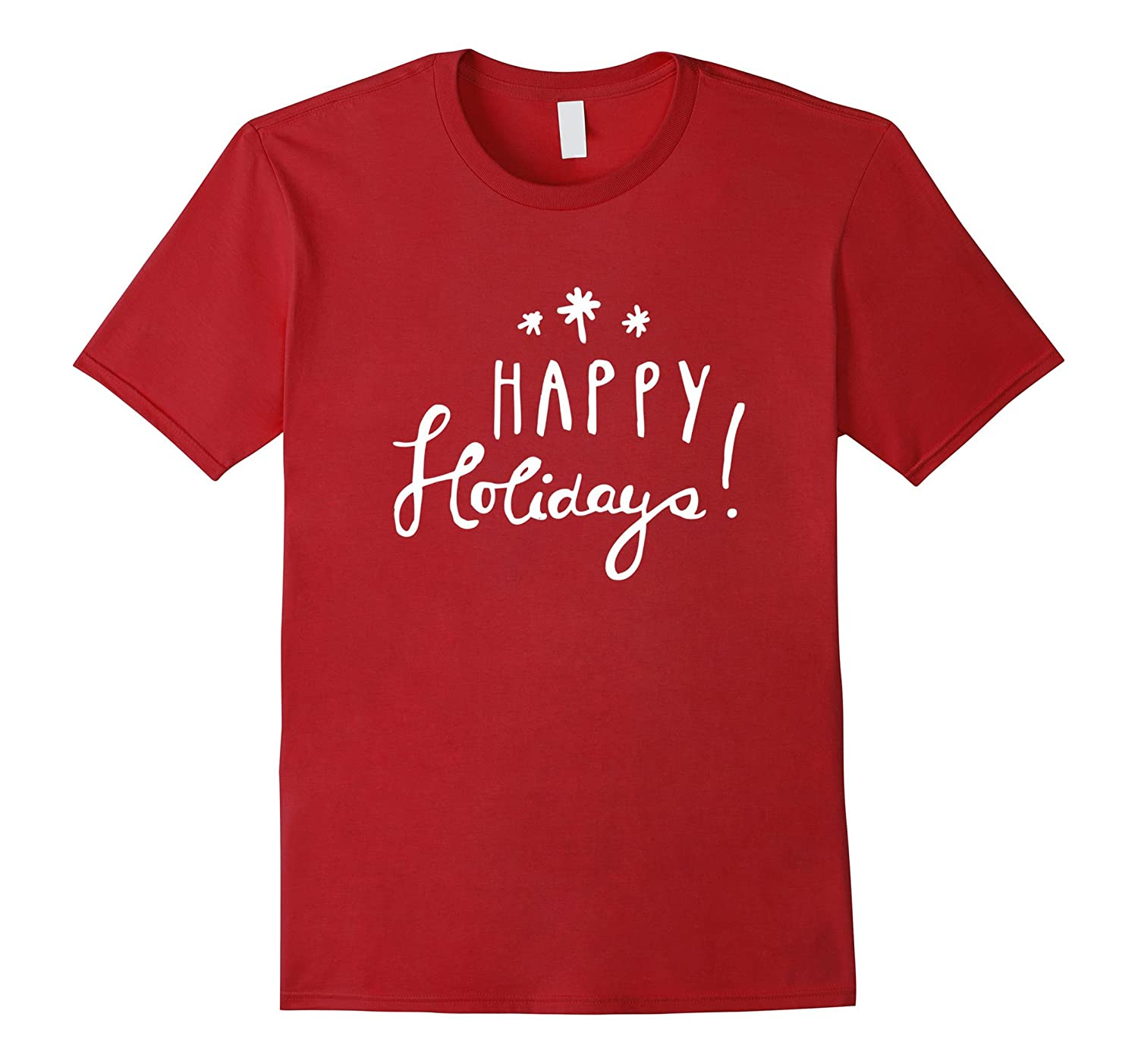Cute Funny & Unique Christmas Happy Holidays T-Shirt & Gift-ANZ ...