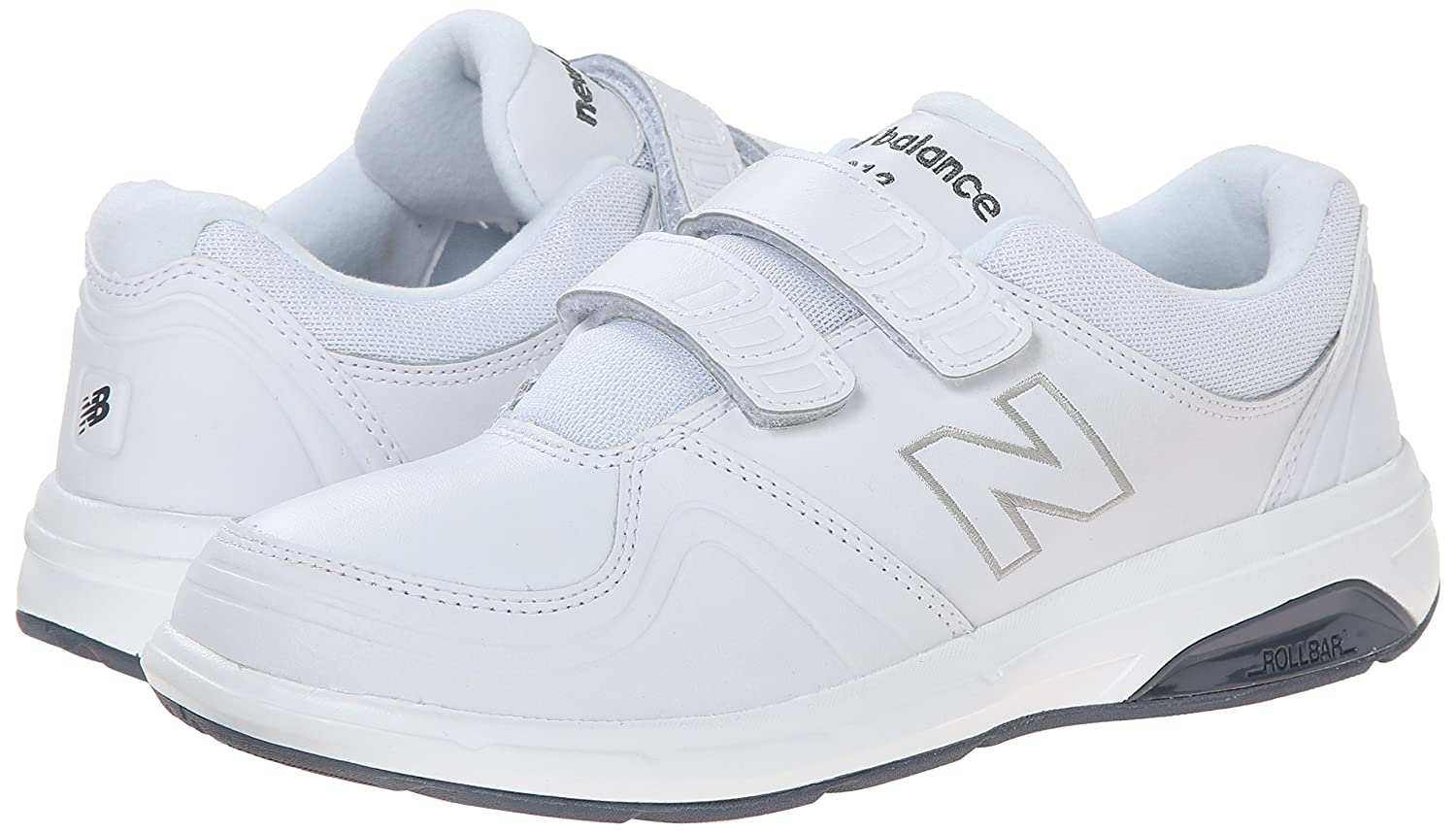New Balance Women's WW813 Shoe Hook and Loop Walking Shoe WW813 B00OB1TSFW 7.5 2E US|White 59865a