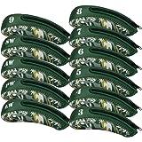 RoryTory Neoprene Zippered Golf Iron Headcovers for Men/Women - Various Colors