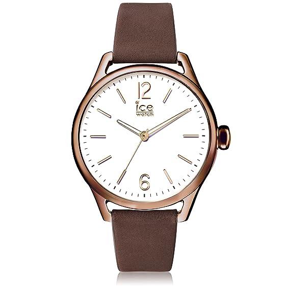 Ice-Watch - ICE time Brown - Reloj marrone para Mujer con Correa de cuero
