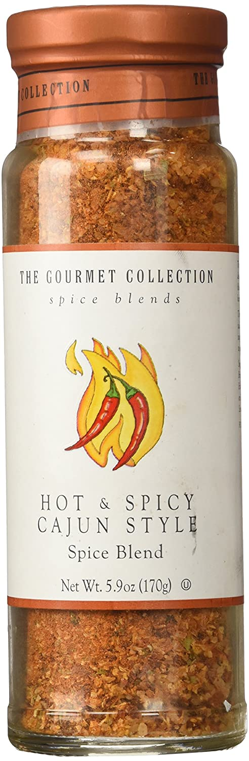 Hot & Spicy Cajun Style The Gourmet Collection Spice Blends 5.9 Oz