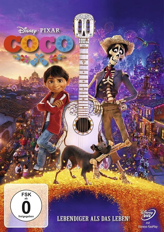 Coco - Lebendiger als das Leben  (Pixar Lieblingsfilme) [Alemania] [DVD]
