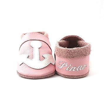 low priced 7eb77 44ea8 little foot company® 7242 Krabbelschuhe Babyschuhe ...