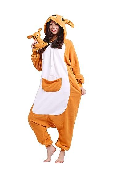 2bf4ba845bbfb Magicmode Unisexe Adulte Pyjama Party Costume De Cosplay Animaux De Dessin  Animé Kigurumi À Capuchon Grenouillère