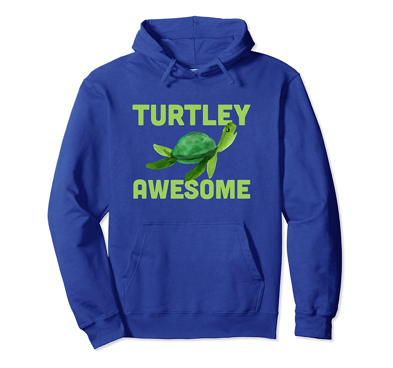 Turtley Awesome Shirt - Funny Turtle Hoodie-ANZ