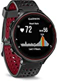 Garmin Forerunner 235 GPS Running Watch with Elevate Wrist Heart Rate and Smart Notifications - Black/Marsala Red