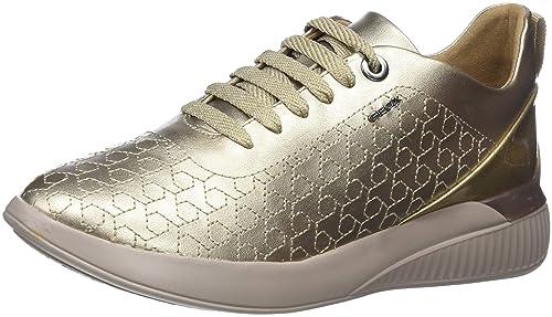 Geox D Theragon C, Zapatillas para Mujer (Graphite C1115