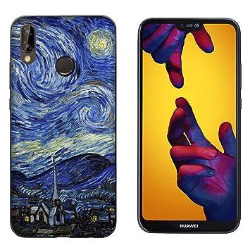 Funda P20 Lite Carcasa Huawei P20 Lite Vincent Van Gogh ...