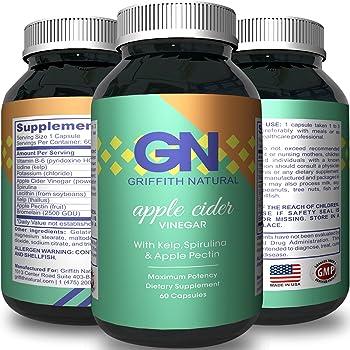 Amazon.com: Apple Cider Vinegar - Weight Loss + Detox