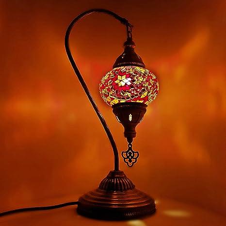 20 Variazioni Fatto A Mano Bronzo Turco Marocchino Arabico Orientale Boemia Tiffany Stile Mosaico Di Vetro Bella Lampada Da Tavolo Lampada Da Tavolo Decorazione Casa 1 Amazon It Illuminazione
