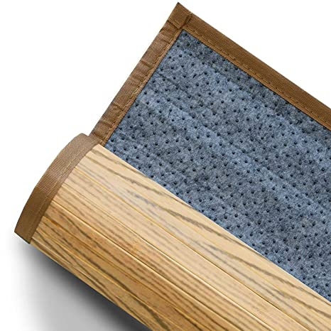 Casa Pura Tapis De Bain Bambou Hypoallergenique Antiderapant