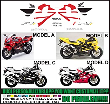 Kit adesivi decal stickers HONDA CBR 600 F4i SPORT (ability to customize the colors): Amazon.es: Coche y moto