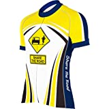 CORVARA BIKE WEAR Men's Share The Road Cycling Short Sleeve Bike Jersey