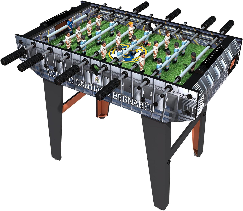 minigols Mini futbolín mesa con 11 figuras de tu equipo y figuras de 11 Generic - 7RMA-2014-2RMG, Real Madrid: Amazon.es: Deportes y aire libre