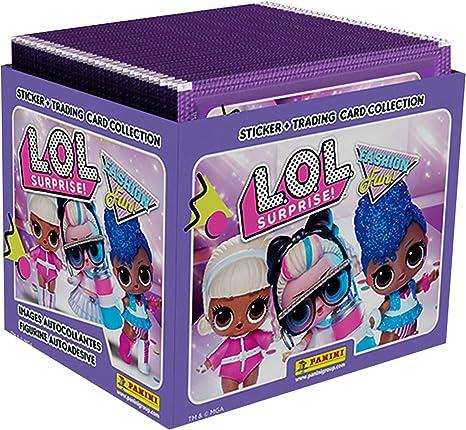 Panini France SA-- Caja de 50 fundas, diseño de LOL SURPRISE, 003876BOX50F , color/modelo surtido: Amazon.es: Juguetes y juegos