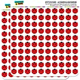"""Lady Bug Ladybug Insect 1/2"""" (0.5"""") Planner Calendar Scrapbooking Crafting Stickers - Opaque"""
