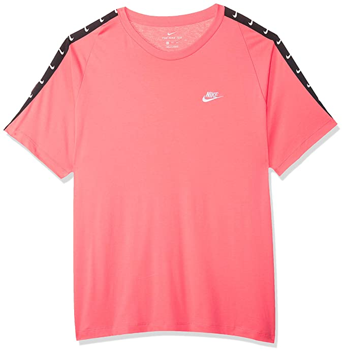 exclusive range new lifestyle latest discount Nike Men's M Nsw Tee Hbr Swoosh 2 T-Shirt: Amazon.co.uk ...