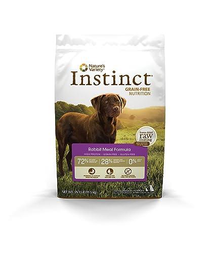 Amazoncom Instinct Original Grain Free Rabbit Meal Formula