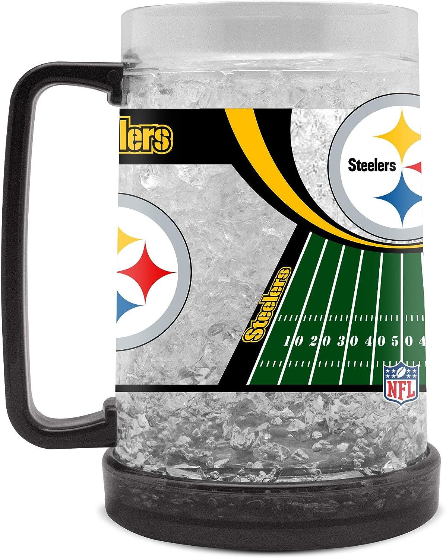 NFL Pittsburgh Steelers 16oz Crystal Freezer Mug